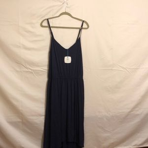Navy blue Tori Richard dress large